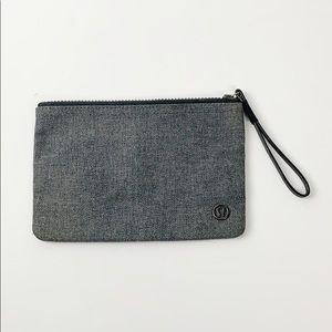 Gray Flannel Lululemon Pouch